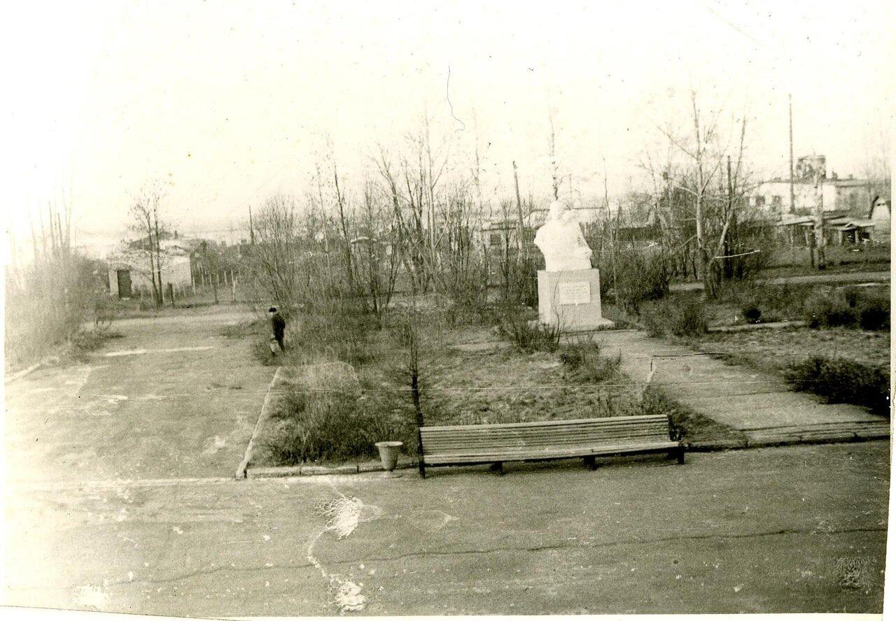 Парк в поселке Переборы
