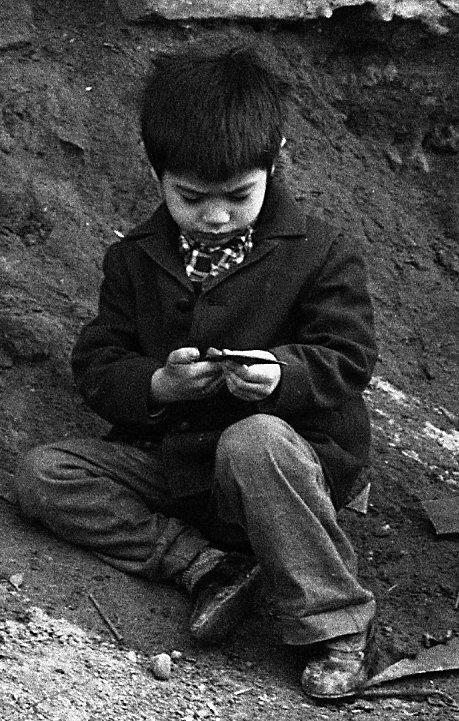 Мальчик в Ташкенте