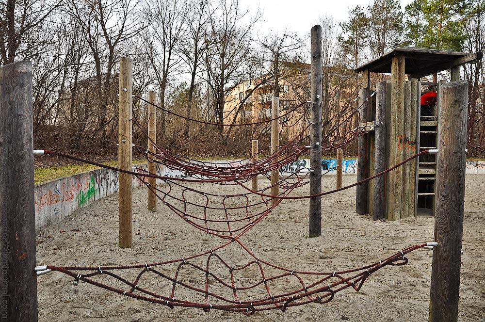 Детские площадки Мюнхена. Тотальный анализ Морсы.