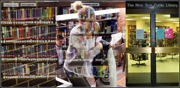 Ню в библиотеке фото 131-293