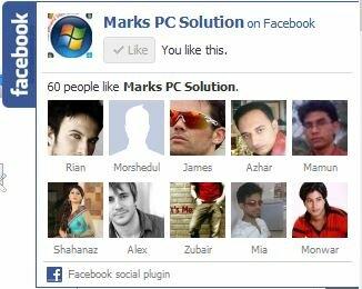 Добавить статический Pop Out Facebook Like Box