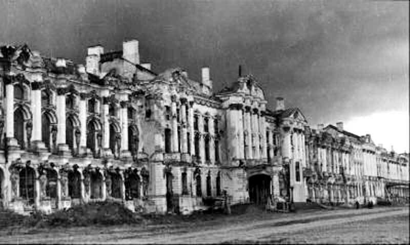 Город Пушкин Ленинградской области, Екатерининский дворец