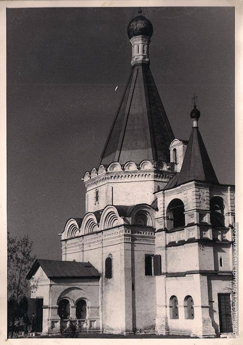 Архангельский собор Нижегородского Кремля фото 1965 года