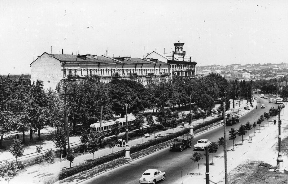 1956.07.06. Улица васильковская (теперь это часть проспекта 40-летия Октября)