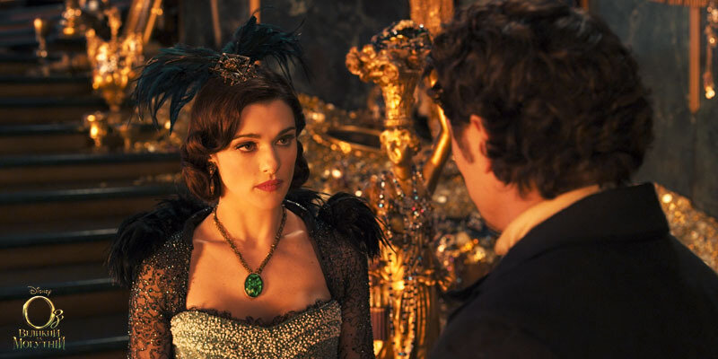 """""""OZ: THE GREAT AND POWERFUL""""Rachel Weisz, left;  James Franco, right©Disney Enterprises, Inc. All Rights Reserved."""