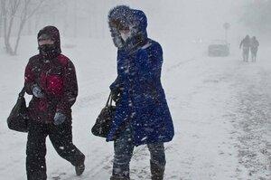 Внимание! В Молдове ожидается сильный снегопад