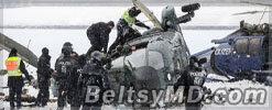 В Берлине во время учений столкнулись два вертолёта