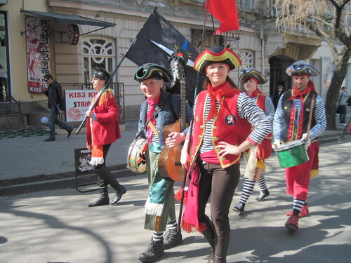 Юморина, Одесса, 2013, пираты