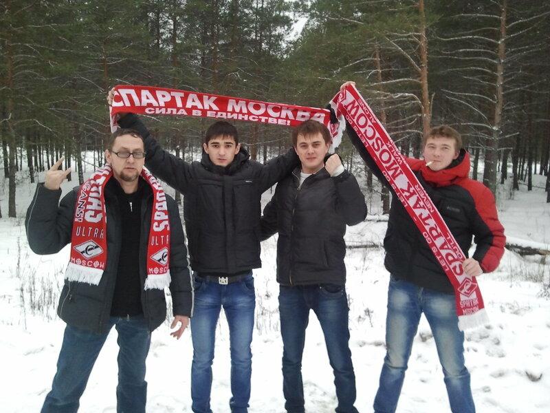 Crix: Мы приехали, чтобы победить! Или красно-белый хардкор в Казани (Фото)