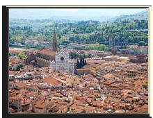 Италия. Флоренция. Italy, Florence, Basilica di Santa Croce. Фото  swisshippo - Depositphotos