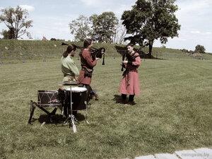 музыканты на рыцарском турнире