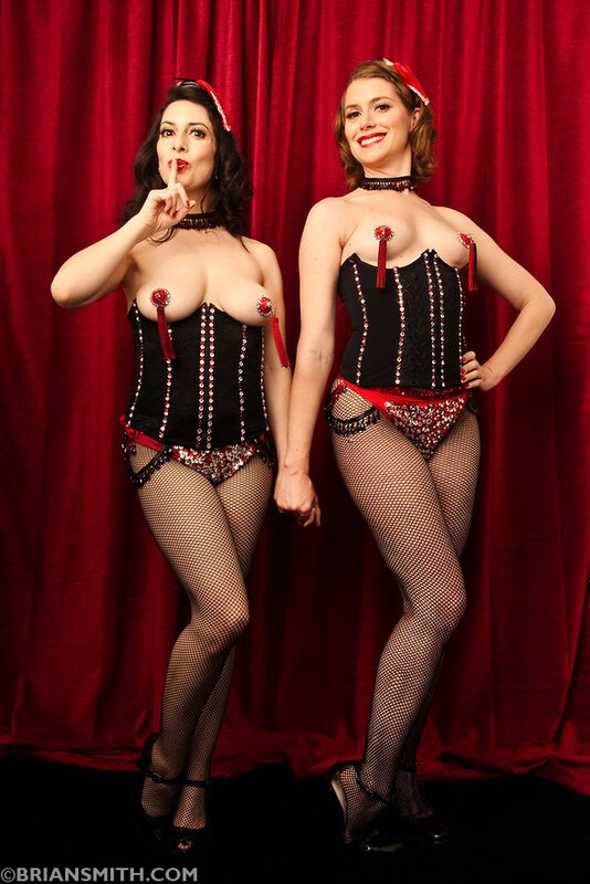 Burlesque Dancers from the Chicago Starlets
