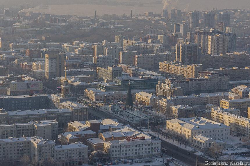 Площадь 1905 года. Екатеринбург.