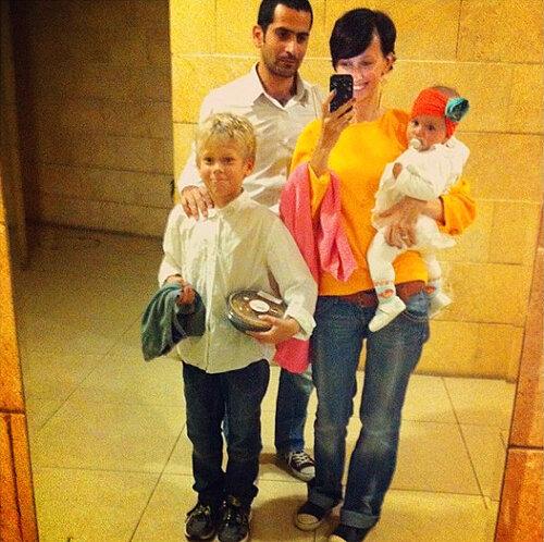 Анастасия Цветаева представила семью