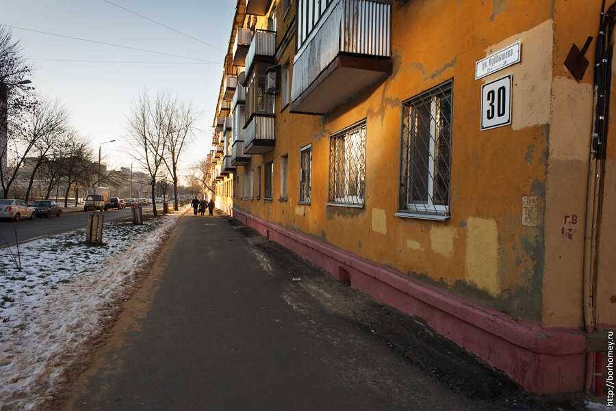 улица Куйбышева в Сарове