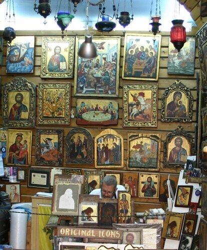 магазин икон, Родос