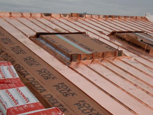 Реконструкция крыши Немецкого музея