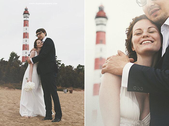 украшение свадьбы / свадьба на маяке