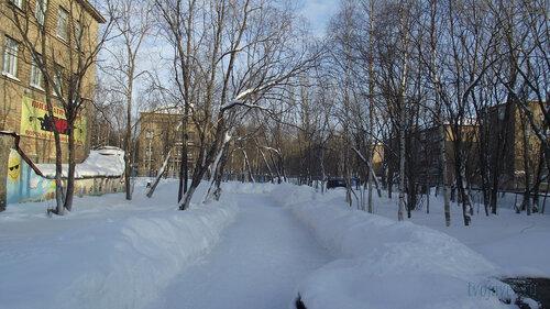 Фото города Инта №3857  Мира 14, 12, 17 и Чернова 7 19.02.2013_13:21