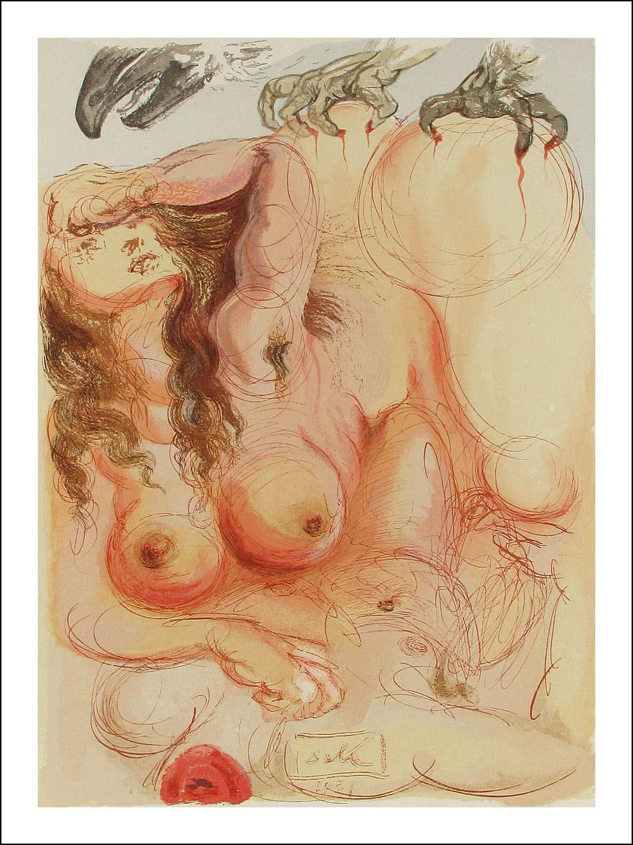Dali Divine Comedy, Inferno