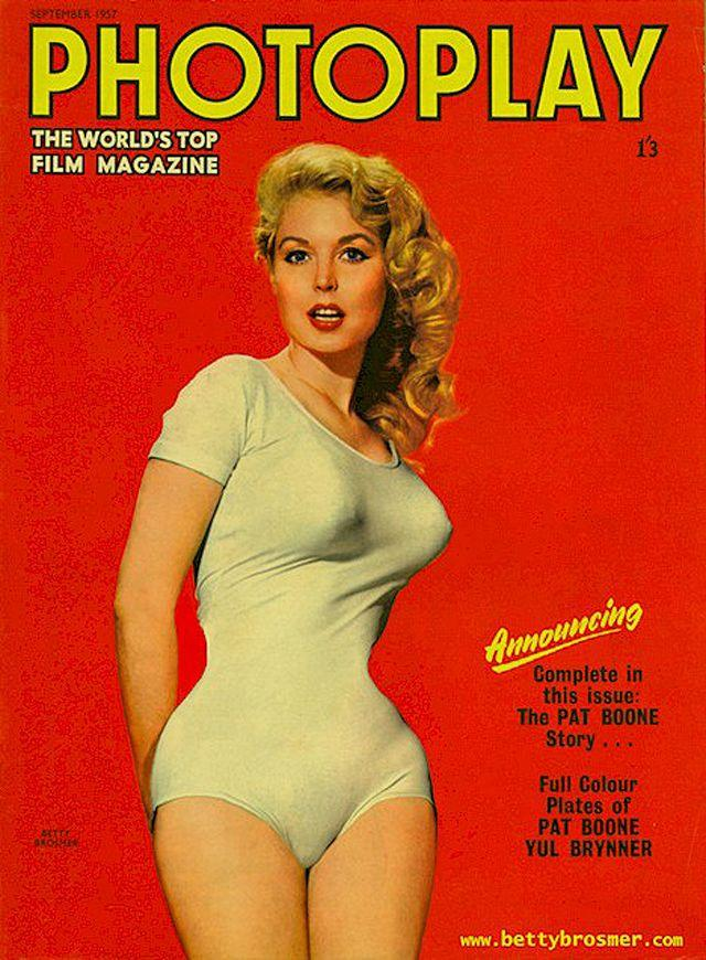 15. К тому времени Бетти стала самой печатаемой моделью Америки, а появление на обложках престижных