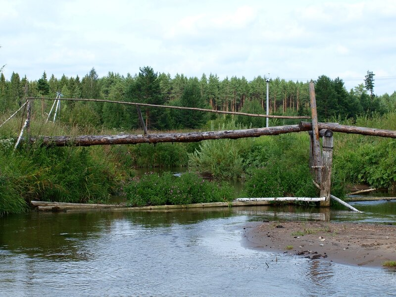 мостик через Никулинку