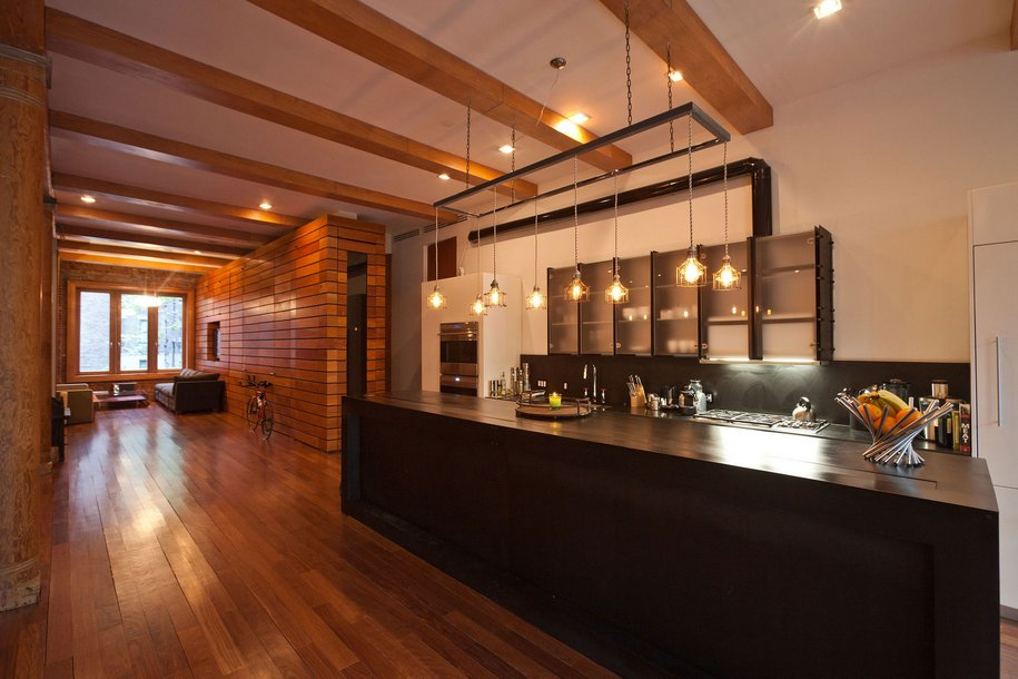 Лофт в Нью-Йорке от студии дизайна Jendretzki