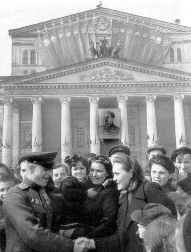 9 мая 1945. Фото Александра Устинова