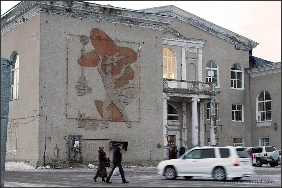 Остатки СССР в Петропавловск-Камчатском