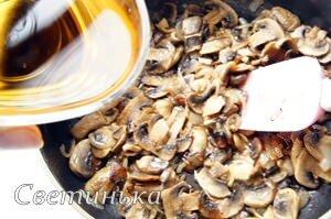 обжарить грибы для бутербродов