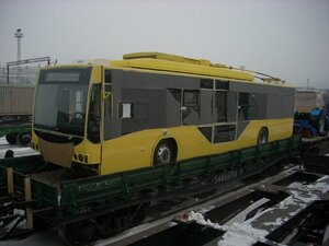 Новые троллейбусы доставили во Владивосток