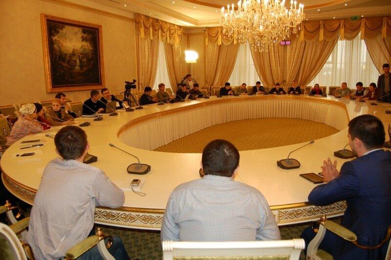 Встреча блогеров с Рамзаном Кадыровым в Грозном