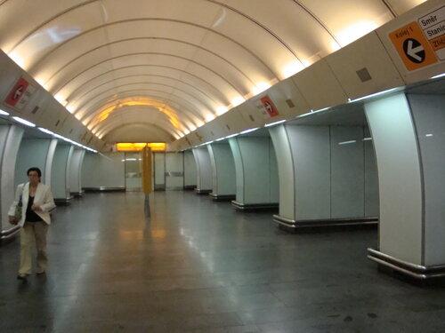 "Прага. Станци метро ""Инвалидовна"""