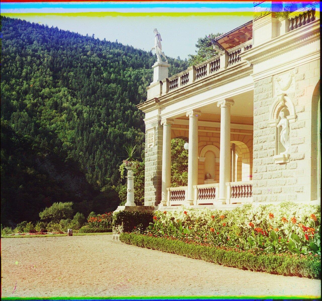 Уголок Ликанского дворца. Боржоми