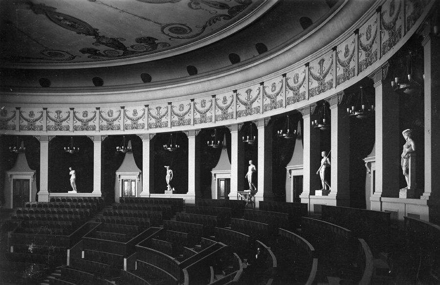 Зрительный зал. Деталь амфитеатра