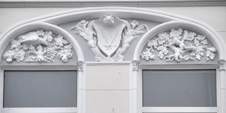 Вильгельмсхафен, дома в стиле модерн