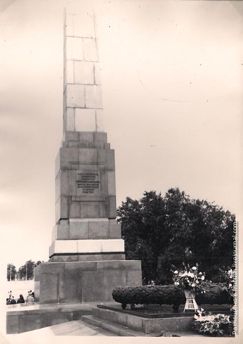 1965 год Волгоград Площадь Павших борцов