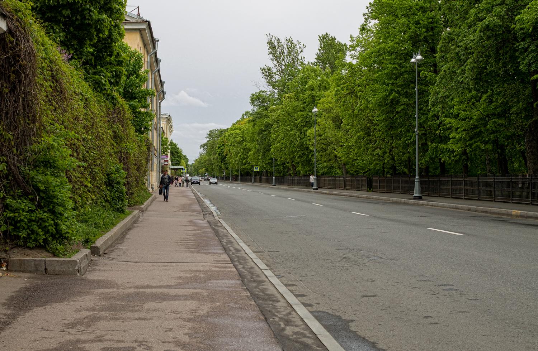 Улица Советская, в Кронштадте