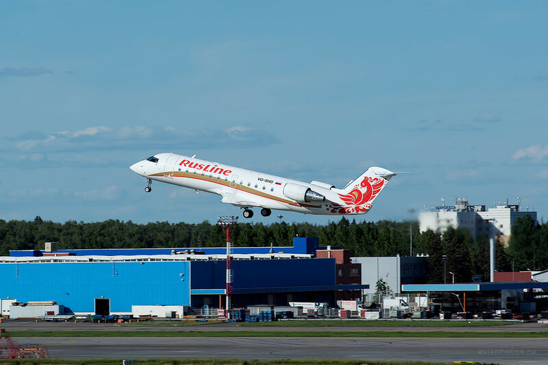 Bombardier CRJ-100ER (VQ-BND) RusLine D808915