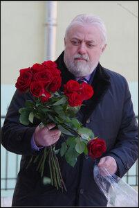 Открытие памятника вице-губернатору Маневичу. Санкт-Петербург. 5 марта 2013.