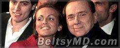Сильвио Берлускони женится на 27-летней девушке