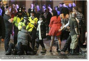 «Улицы позора» — так Британцы встретили новый 2013-й
