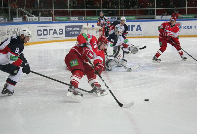 «Спартак» vs «Слован» 3:4 ОТ чемпионат КХЛ 2012-2013 (Фото)