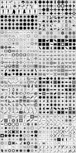 Огромный набор фигур для фотошопа 0_ca0f8_4b7e71be_L
