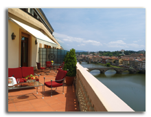 Италия. Флоренция. The Westin Excelsior, Florence. Presidential Suite Terrace