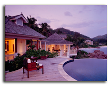 Сейшелы. О. Маэ. Banyan Tree Seychelles. Two Bedroom Double Pool Villa Double Bedded Room