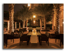 ОАЭ. Дубаи. The Westin Dubai Mina Seyahi Beach Resort. The Spice Emporium Restaurant - Terrace