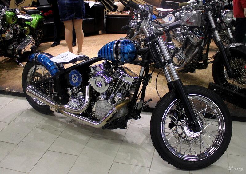 Эксклюзивный байк из Милана Headbanger Woodstock Boogie Silver Strips