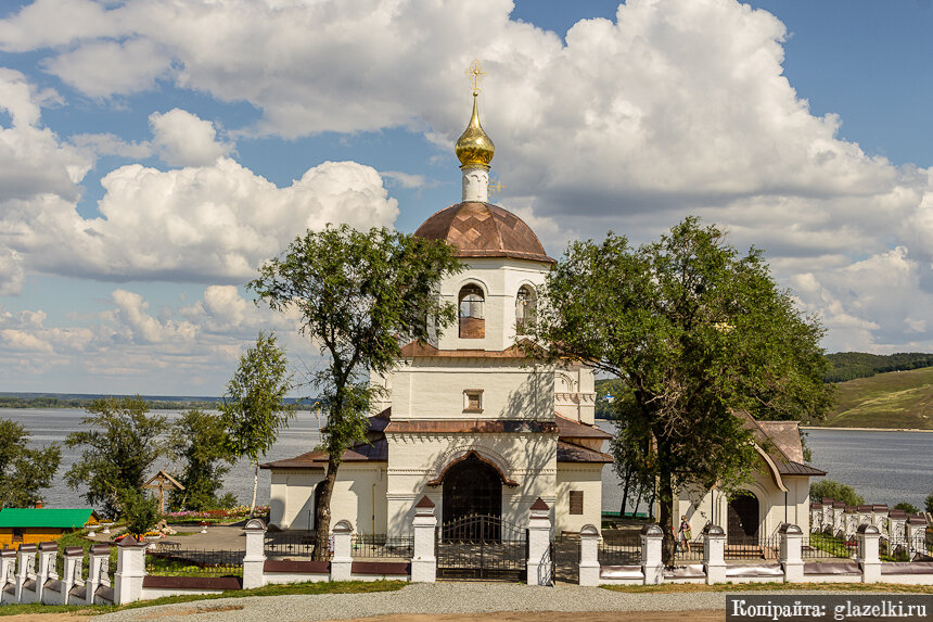 Свияжск. Церковь Константина и Елены.