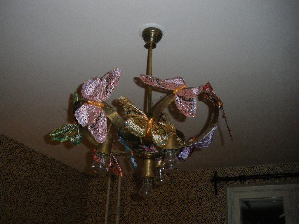 Светотехнические фантазии с бабочками
